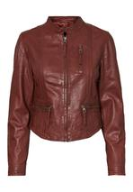 Leather jacket in Brown