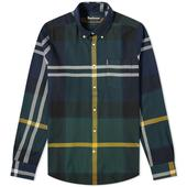 Barbour Dunoon Shirt in Green