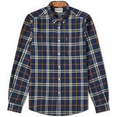 Barbour Highland Check 20 Tailored Shirt in Blue