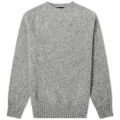 Howlin' Birth Of The Cool Crew Knit in Grey