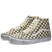Vans UA Sk8-Hi Tapered in Neutral and Grey