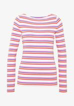 BOAT - Long sleeved top in Pink