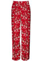 Trousers in Red