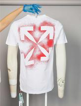 Graphic-print cotton-jersey T-shirt in White