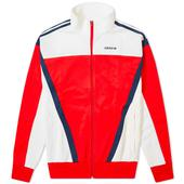 Adidas Classics Retro Track Top in Red and White