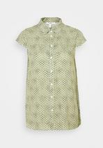 BLOUSE - Button-down blouse in Green