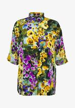 TAMRA BLOUSE - Button-down blouse in Multicoloured