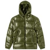 Moncler Ecrins Down Jacket in Green