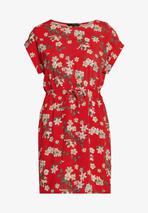 VMSIMPLY EASY SHORT DRESS - Day dress in Red