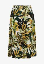 A-line skirt in Green