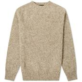 Howlin' Birth Of The Cool Crew Knit in Neutral