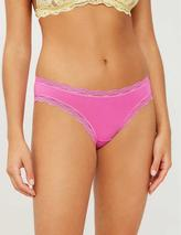 Set of four Basics Bright stretch-modal briefs in Orange, Pink, Red and Blue