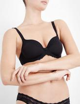 Beauty-Full Darling Spacer underwired bra in Black