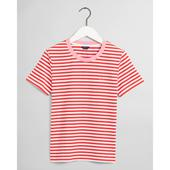 Stripe Graphic T-Shirt in Red