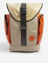 Roamer upcycled sail canvas backpack in Neutral