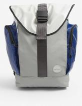 Roamer upcycled sail canvas backpack in Grey