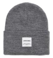 Knitted Beanie in Grey