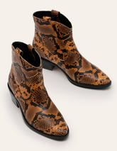 Allendale Ankle Boots in Brown
