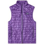 Patagonia Nano Puff Vest in Purple