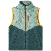 Nike Heritage Insulated Vest in Green