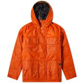 Barbour x Norse Projects Wax Ursula Jacket in Orange