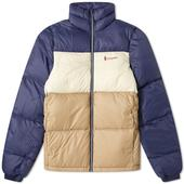 Cotopaxi Solazo Down Jacket in Neutral and Navy