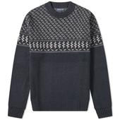 Patagonia Recycled Wool Crew Knit in Navy