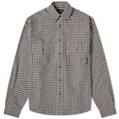 PACCBET Flannel Checked Shirt in Neutral
