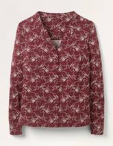 Agnes Jersey Shirt in Red