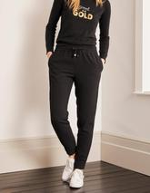 Clovelly Woven Joggers in Black