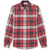 Barbour Highland Check 34 Tailored Shirt in Red