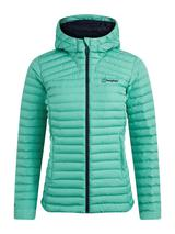 Women's Nula Micro Insulated Jacket in Green