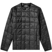 Taion Crew Neck Down Jacket in Black