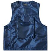 Engineered Garments Cover Vest in Navy