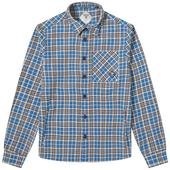 Barbour Beacon Forth Overshirt in Blue