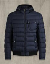 STREAMLINE PUFFER JACKET in Navy