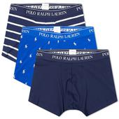 Polo Ralph Lauren Pony Boxer Short - 3 Pack in Navy and Blue