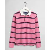 Double Stripe Heavy Rugger in Pink