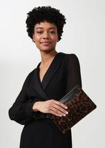 Lundy Wristlet in Brown