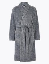 Supersoft Dressing Gown in Grey
