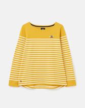 Harbour Long Sleeve Jersey Top in Yellow