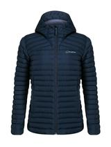 Women's Nula Micro Insulated Jacket in Navy