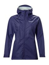 Women's Deluge Vented Waterproof Jacket in Blue