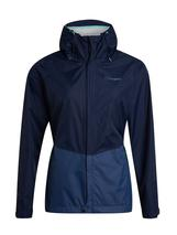 Women's Deluge Vented Waterproof Jacket in Navy