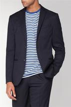 Midnight Structure Slim Jacket in Navy