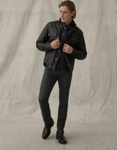 LONGTON SLIM JEANS in Black