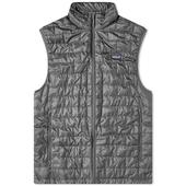 Patagonia Nano Puff Vest in Grey