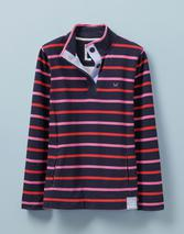 Padstow Pique Sweatshirt in Multicoloured and Navy