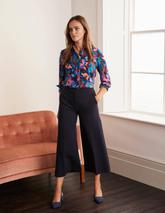 Hampshire Ponte Culottes in Navy
