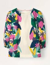 Joanna Top in Multicoloured and Neutral